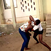 African Traditional Women Wrestling