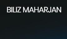Biliz Maharjan