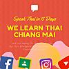 We Learn Thai Chiang Mai School