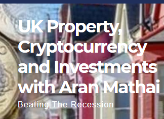 UK Property, Cryptocurrency and Investments with Aran Mathai