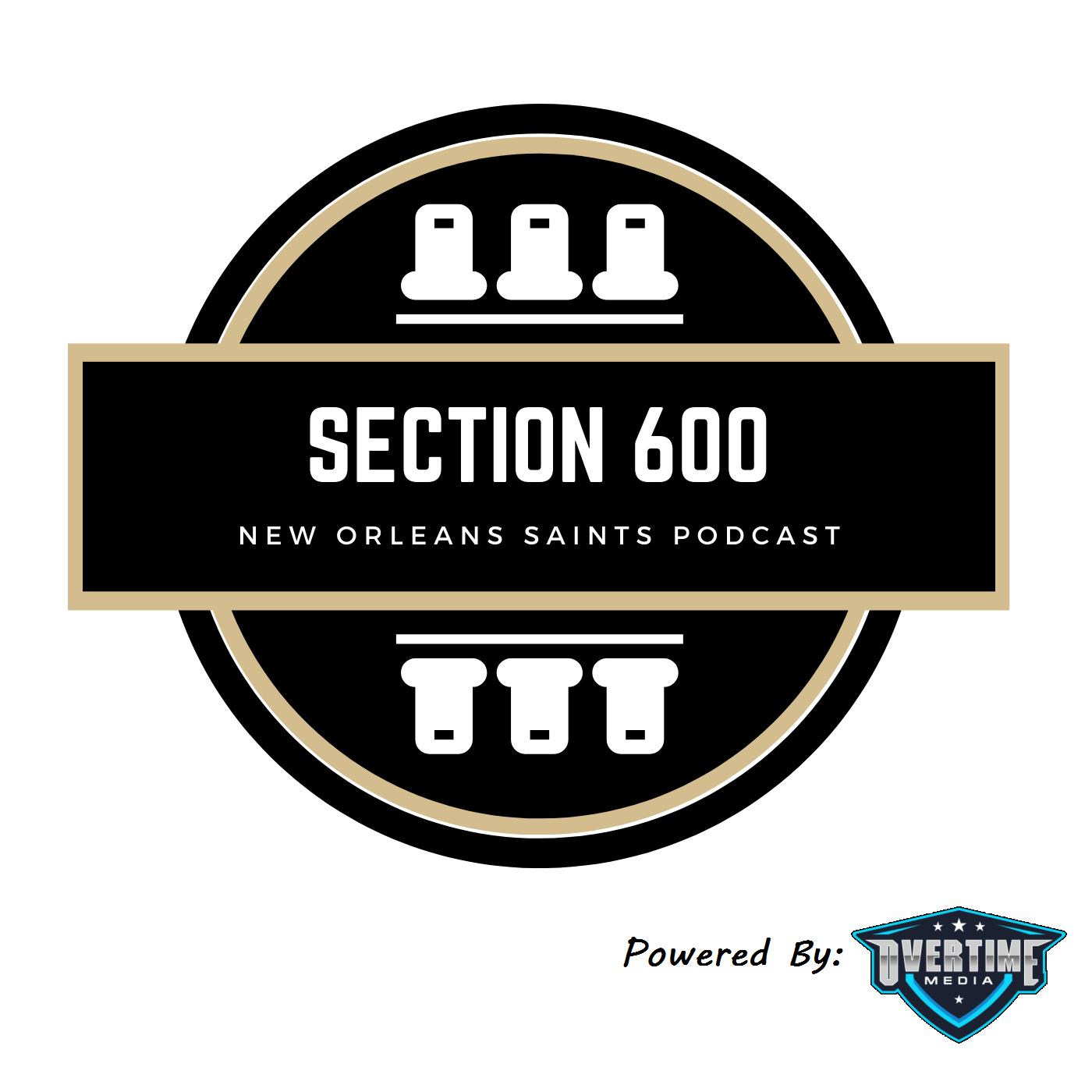 Section 600   New Orleans Saints