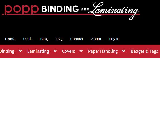 Popp Binding & Laminating
