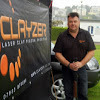 Clayzer laser clay pigeon shooting