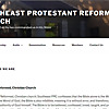 Southeast Protestant Reformed Church Sermons