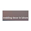 wedding decor in lahore