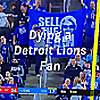 Dying a Detroit Lion Fan