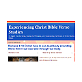 Experiencing Christ Bible Verse Studies