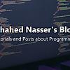 Shahed Nasser's Blog