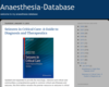Anaesthesia - Database